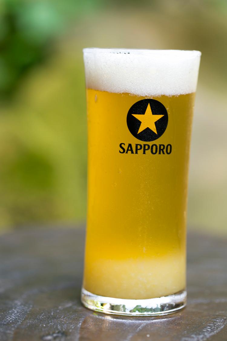 処暑のゆずビール