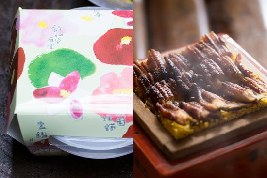 穴子の蒸し寿司